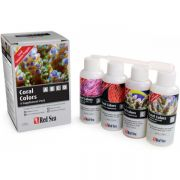 Red Sea RCP Coral Colors Kit 4 x 100ml A/B/C/D