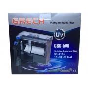 Filtro Externo Com Uv 5w Hang On Grech Cbg-500 - 127v.