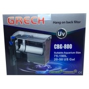 Filtro Externo Com Uv 5w Hang On Grech Cbg-800 - 127v.