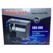 Filtro Externo Com Uv 5w Hang On Grech Cbg-800 - 220v.