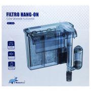 FILTRO EXTERNO HANG ON SLIM WB-350 350L/H P/ AQUARIOS ATÉ 90L 220v.