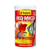 RAÇÃO  RED MICO COLOUR STICKS 80gr TROPICAL