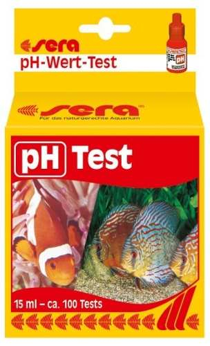 Sera Teste Ph Para Aquario De Agua Doce  Salgada 100 Testes  - KZ Power
