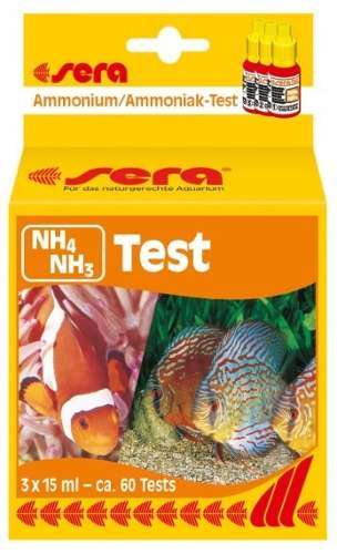 Sera Teste Amonia Nh4 Nh3 Aquario Marinho Ou Doce.  - KZ Power