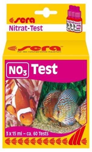 Sera Teste Nitrato No3 Para Aquario De Agua Doce Ou Salgada  - KZ Power