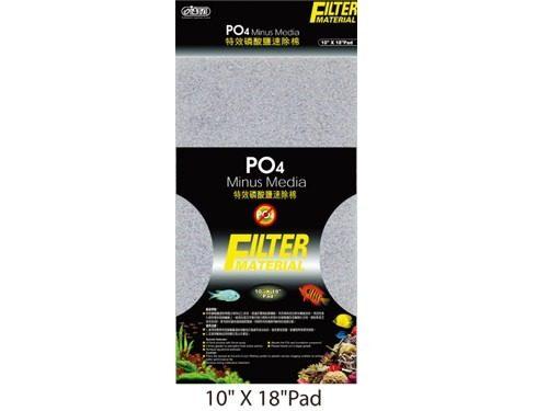 Placa Removedora Po4 Fosfato Ista 45cmx25cmx1,5cm  I-278  - KZ Power