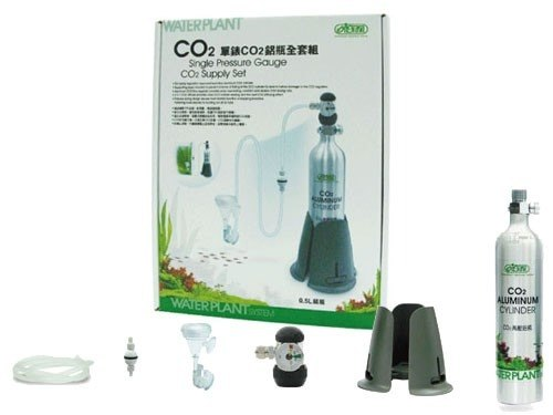 Cilindro Co2 Kit Completo Ista 500ml Pronto Para Uso i-675  - KZ Power