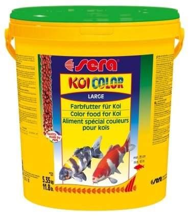 Ração Para Peixe Sera Koi Color Large Balde 5,350kg  - KZ Power