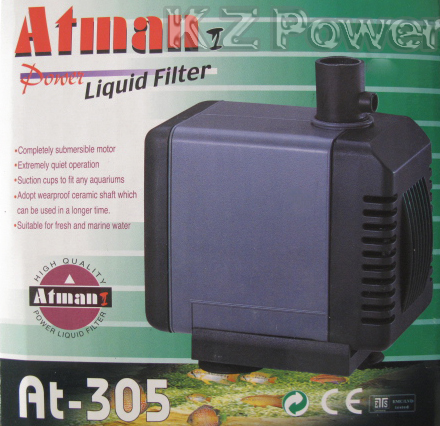 Bomba Submersa Atman At-305 1200 L/hora Disponivel Em 110v. - KZ Power