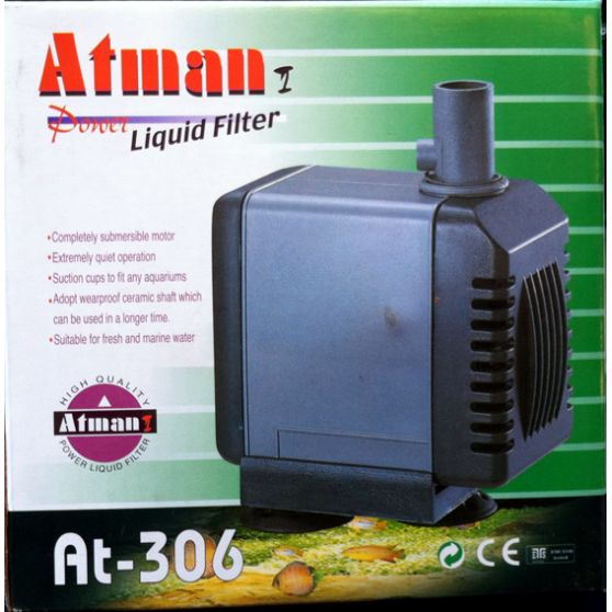 Bomba Submersa Atman At-306 2000 L/hora Disponivel Em 110v.  - KZ Power