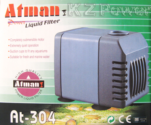 Bomba Submersa Atman At-304 800 L/hora Disponivel Em 110v.  - KZ Power