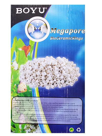Ceramica Boyu 500gr p/ Filtros Sump Aquarios  - KZ Power