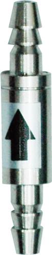 Valvula Ant-Retorno ista em aço inoxidavel p/ cilindros pressurizados i-962  - KZ Power
