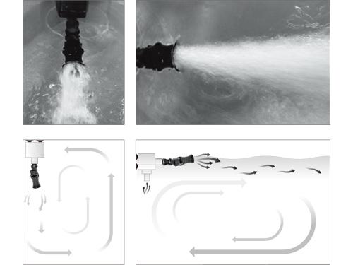 Acelerador de Fluxo de Agua - Ista Vortex Water Flow - 3/4´  - KZ Power
