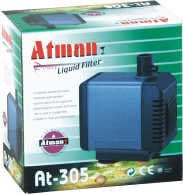 Bomba Submersa Atman At-305 1200 L/hora Disponivel Em 220v.  - KZ Power
