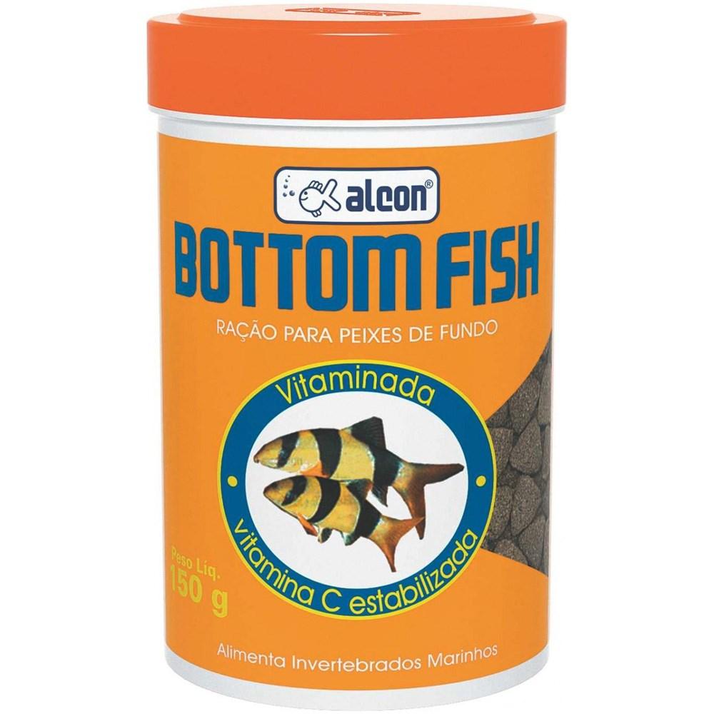 Ração Alcon Bottom Fish 150gr p/ peixes de fundo  - KZ Power