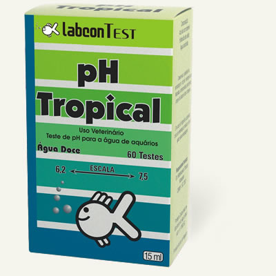 Labcon Test Ph Tropical 15ml Mede o ph na escala de 6,2 a 7,5  - KZ Power