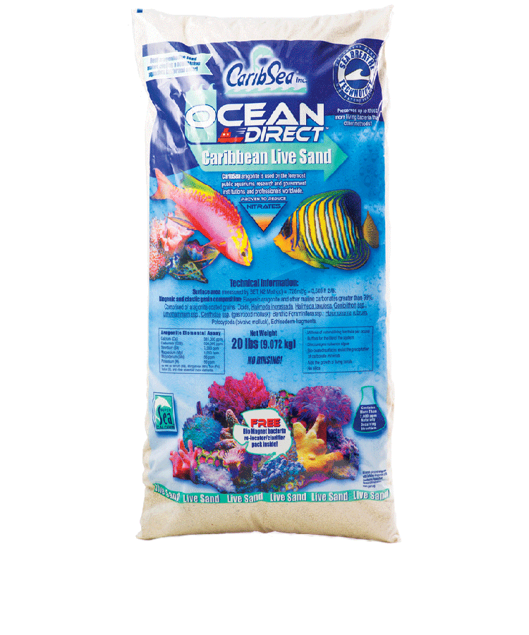 Caribsea Ocean Direct Live Oolitic Aragonita 9kg  - KZ Power
