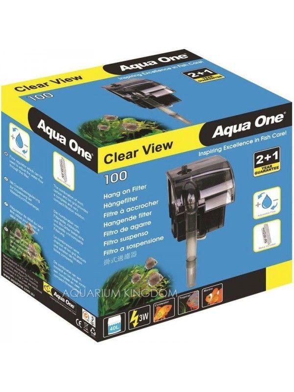 Filtro Externo Aquaone 100 p/ aquarios ate 40L 110v/127v.  - KZ Power