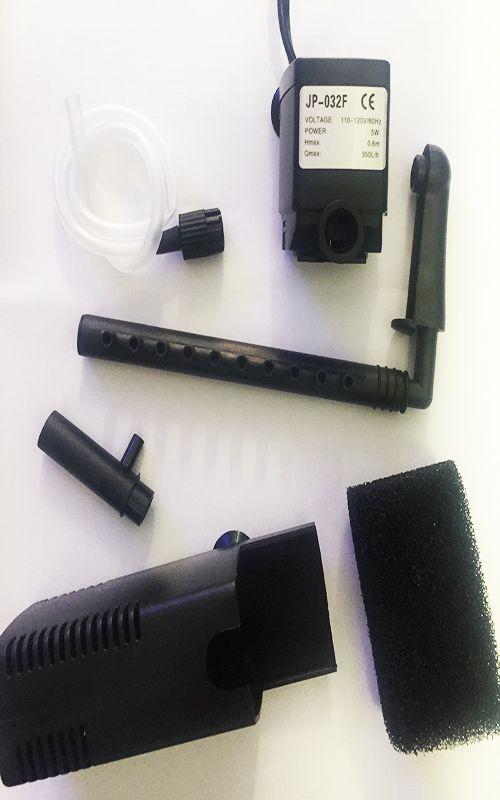 Filtro Interno Sunsun Com Flauta Jp-032f 350l/h Vazão 127v  - KZ Power