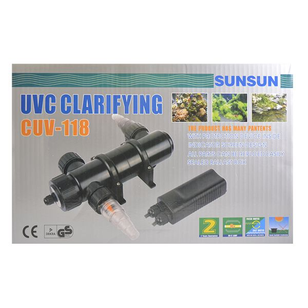 Filtro Uv Externo Sunsun Cuv-118 18w 127v  - KZ Power