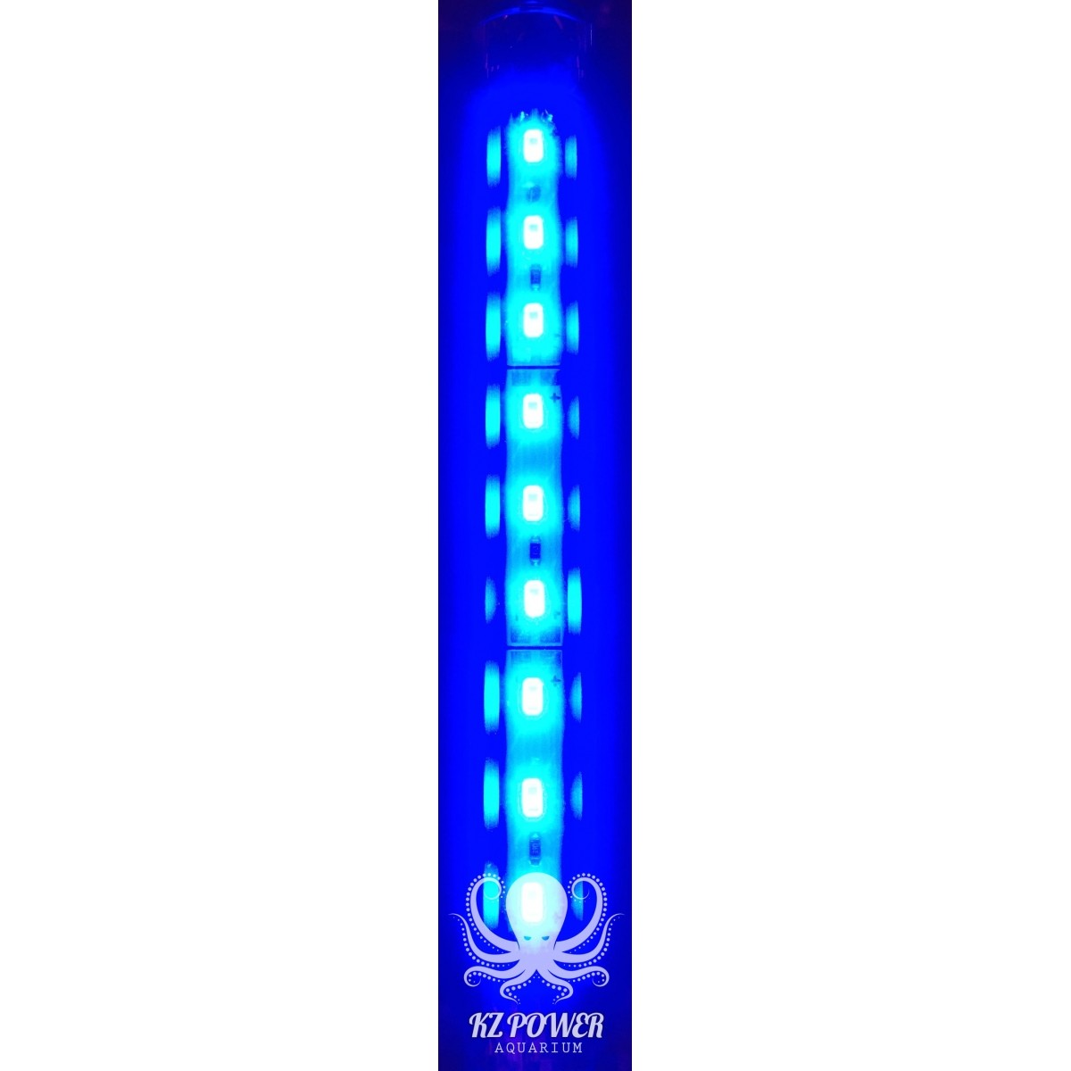 Luminaria Led Aqualumi Azul 65cm + Fonte Bivolt  - KZ Power