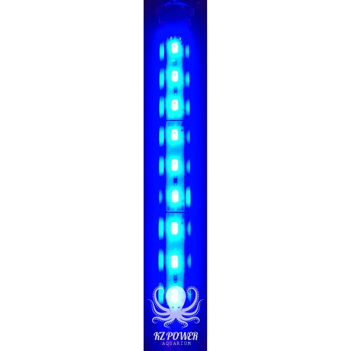 Luminaria Led Aqualumi Azul 95cm + Fonte Bivolt  - KZ Power