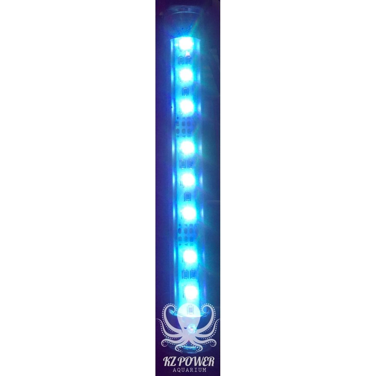 Luminaria Led Aqualumi RGB 30cm + Fonte Bivolt  - KZ Power