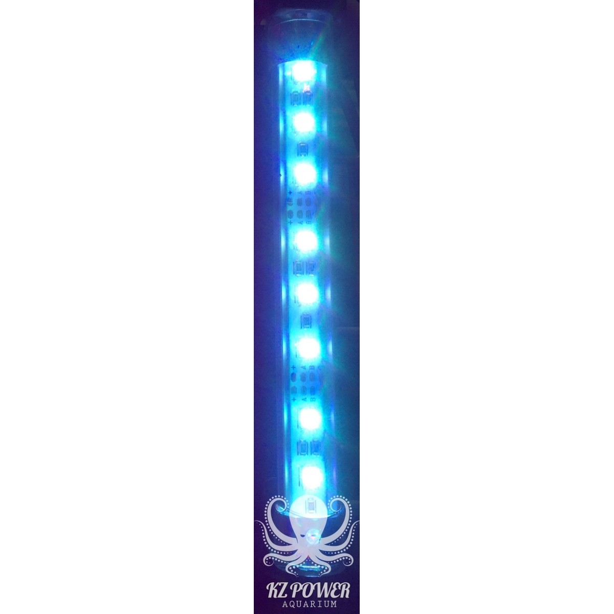 Luminaria Led Aqualumi RGB 65cm + Fonte Bivolt  - KZ Power