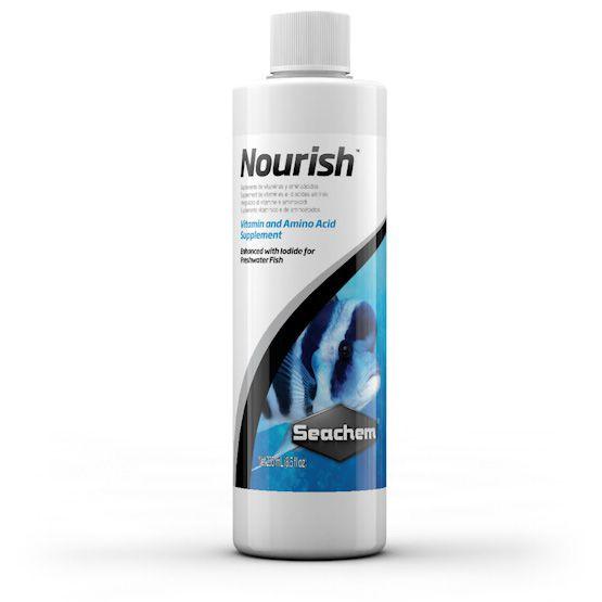 Nourish seachem suplemento de vitaminas agua doce 250ml Valido ate 06/2018  - KZ Power