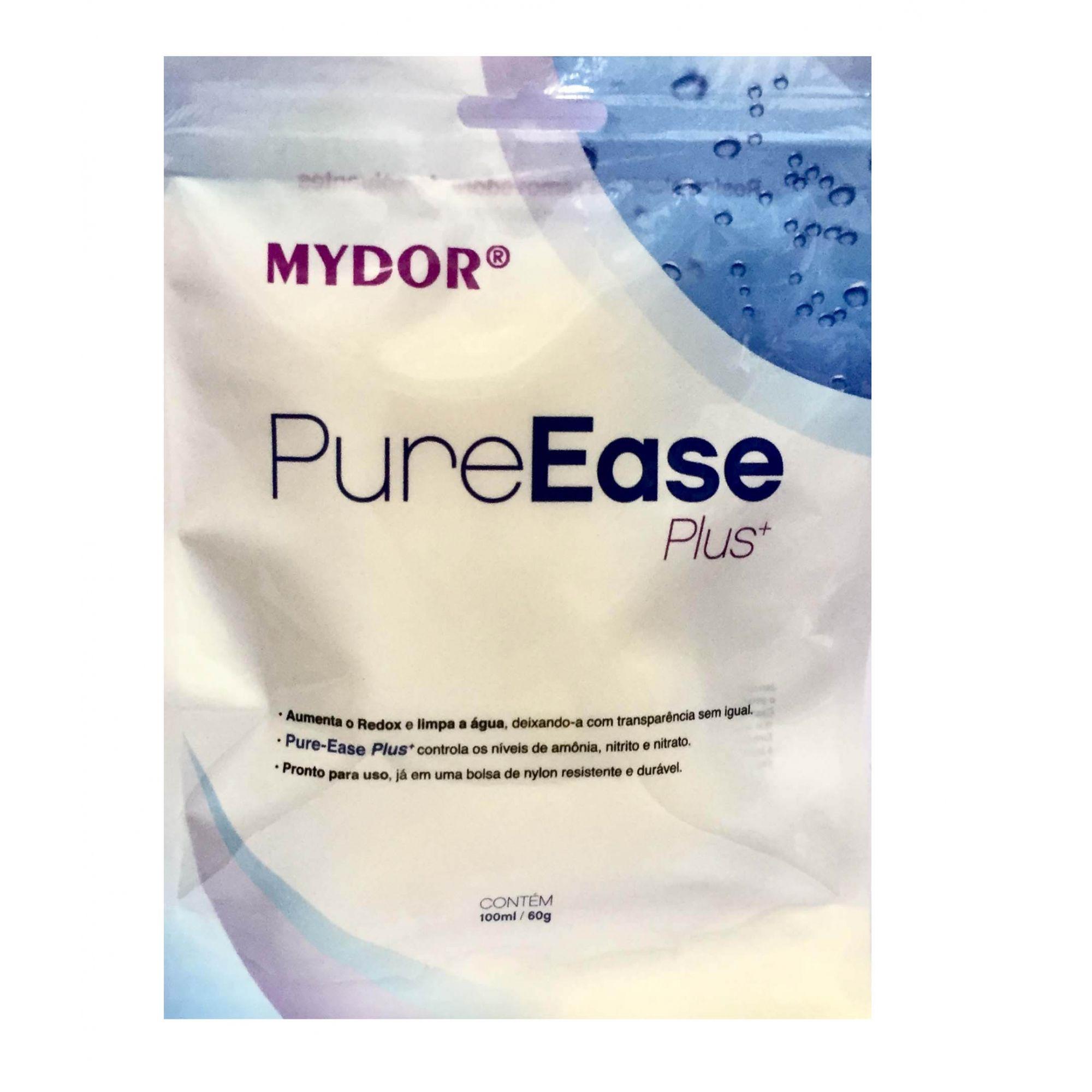 Pure Ease Plus+ 100ml deixa a  Água Transparente  - KZ Power