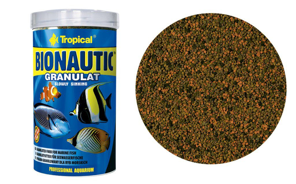 RAÇÃO BIONAUTIC GRANULAT 55gr TROPICAL  - KZ Power