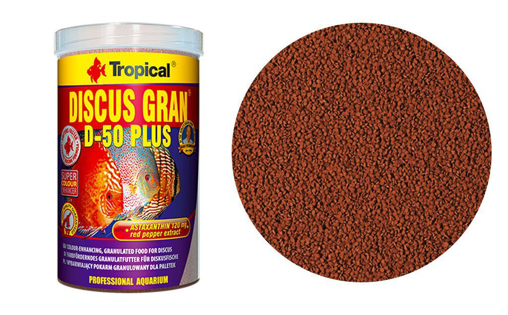 RAÇÃO D-50 PLUS GRANULAT 110gr TROPICAL  - KZ Power
