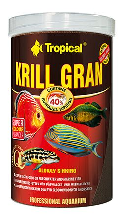 RAÇÃO KRILL GRAN 54gr TROPICAL  - KZ Power