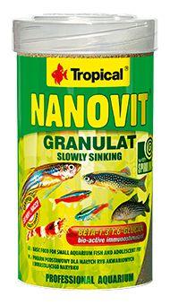 RAÇÃO NANOVIT GRANULAT 70gr TROPICAL  - KZ Power
