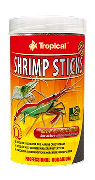Ração Tropical Shrimp Sticks  camarão  55 Gr  - KZ Power