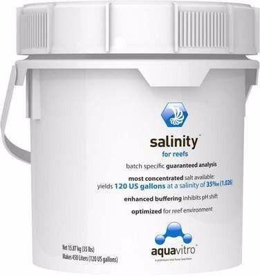Sal Marinho Seachem Aquavitro Salinity 15,87 kg Agua Salgada  - KZ Power