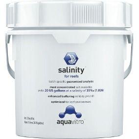 Sal Marinho Seachem Aquavitro Salinity 2,72kg Agua Salgada  - KZ Power