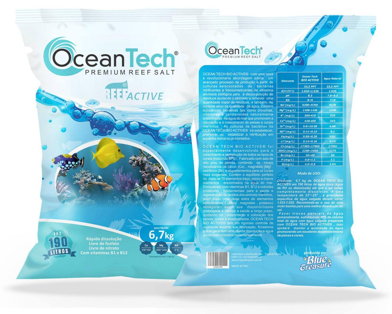 Sal OceanTech Reef Active 6,7 Kg + 1 Bio Active  - KZ Power