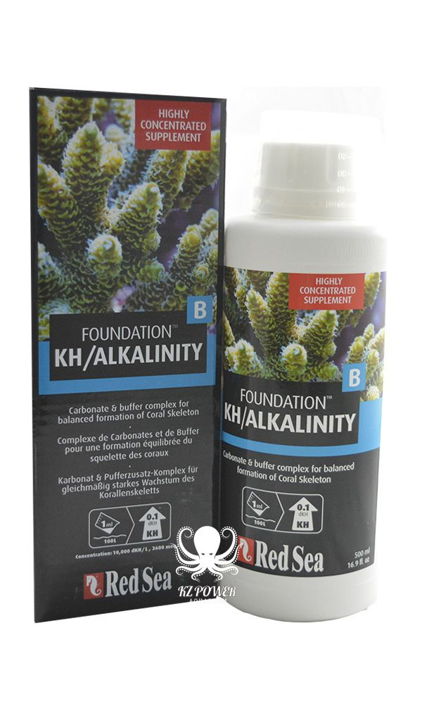 Suplemento Rcp Red Sea Reef Foundation B (alk) 500ml  - KZ Power