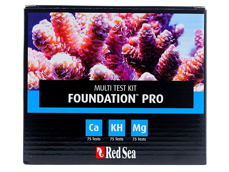 Teste Red Sea Kit Reef Foundation Pro (ca/kh/mg)  - KZ Power