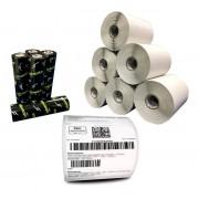 2000 Etiquetas Couche Adesiva 100x150 Mm | 10x15 Cm + 5 Ribbons Cera - Mercado Envios