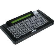 Teclado Programável TEC-E 65 com Display e Leitor Trilha 2 Preto - Gertec