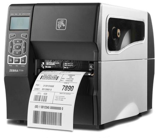 Impressora de Etiquetas Térmica Industrial - ZT230 - Zebra