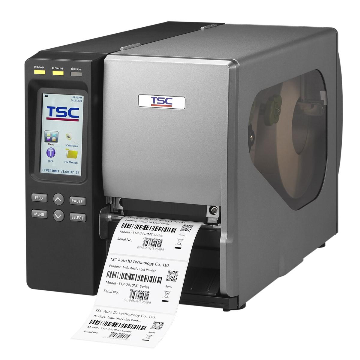 Impressora de Etiquetas Térmica Industrial - TTP-2410MT - TSC