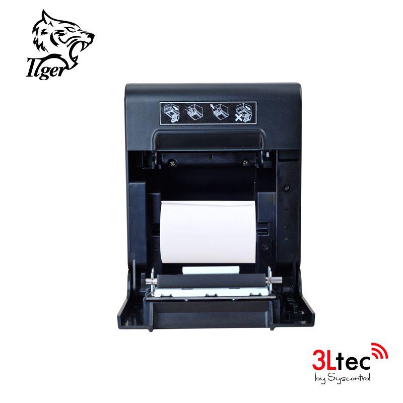 Impressora Térmica Não Fiscal 80mm TI808USC, TIGER, 200mm/s, QR-Code, Guilhotina, Fonte Embutida, USB/SERIAL