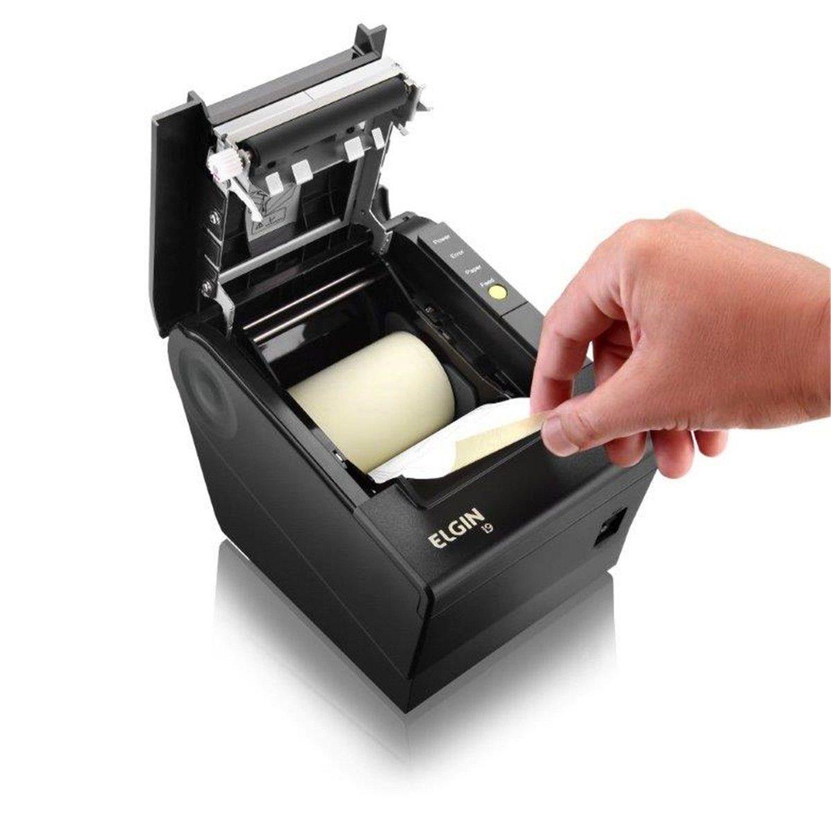 Impressora Termica Elgin I9 Usb Guilhotina Garantia 3 Anos