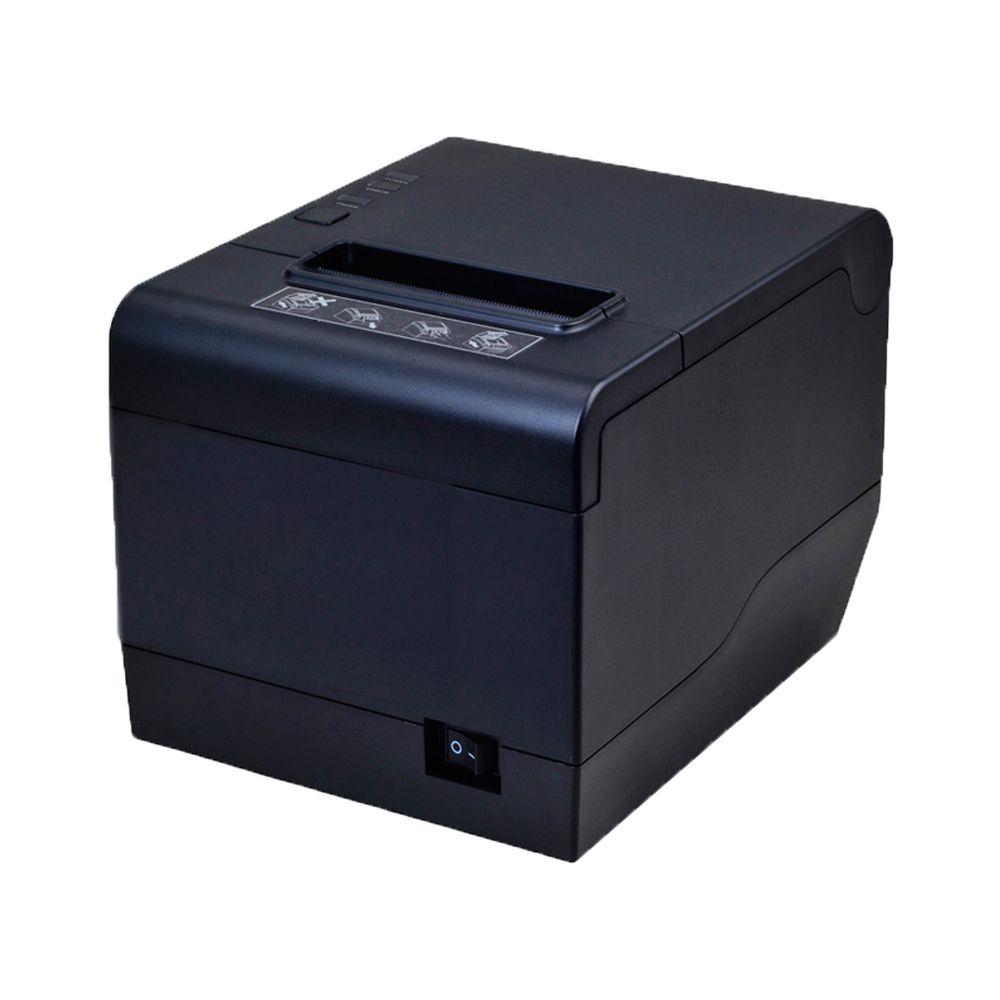 Impressoras  Térmica Não Fiscal 80mm TI 808USEC, TIGER, 203mm/S, QR-Code, Guilhotina, Fonte Embutida USB/SERIAL/REDE
