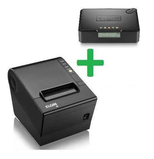 Kit Sat Elgin Smart + Impressora Elgin i9