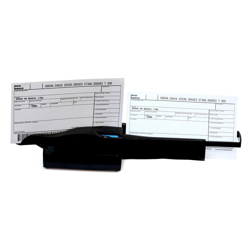 Leitor de Boletos e Cheques Homebank  Eco 10 USB - Nonus